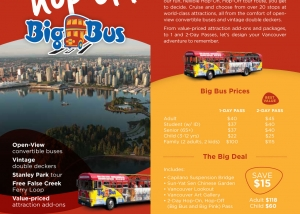 Westcoast Sightseeing brochure 1